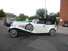 White Beauford Tourer - All Kent Wedding Car Services