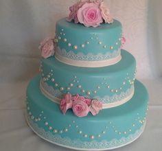 Birthday Cake Girls, Princess Birthday, Gorgeous Cakes, Amazing Cakes, Bolo Fack, Magenta Wedding, Lace Decor, Baking Cupcakes, Floral Cake