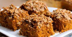 vegan pumpkin banana cake recipe with streusal