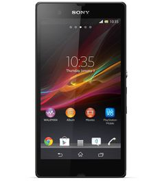 Xperia Z, the best of Sony in a smartphone with a razor sharp and super bright display.