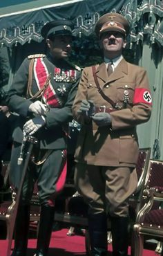 Adolf Hitler with Prince Paul of Yugoslavia