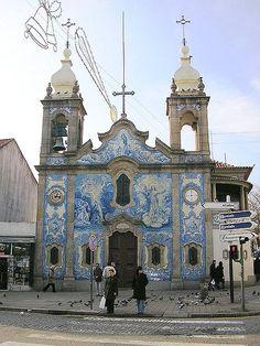 Porto | Igreja do / Church of Carvalhido | 1944 #Azulejo #Porto