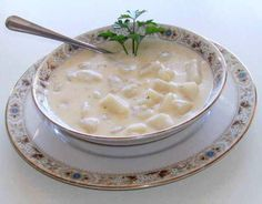 Homemade Potato Soup from Food.com:   								This yummy meal is great for cold days or just days when you want a comfort food!  This recipe comes from my Mammaw....I love you Mammaw!