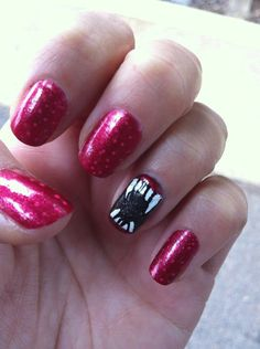 Nail Art- great for true blood premiere!