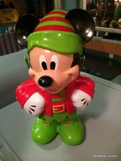 Dining in Disneyland: Mickey Elf Premium Popcorn Bucket   the disney food blog