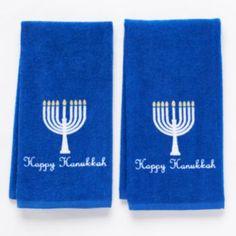 Hanukkah 2-pk. Kitchen Towels
