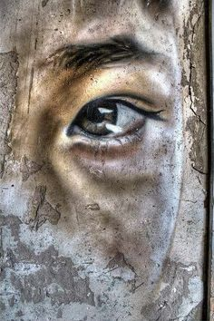 Matt Adnate.. . #streetart - I SO LOVE THIS!! IT MUST BE 'THE EYES' AGAIN, OUI !! ✳✳✳
