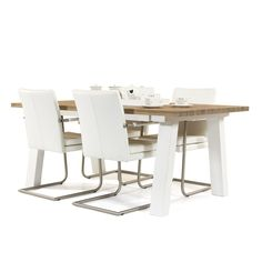 hamptons dining table White painted A Leg style 1.8m $750 and 2m $850