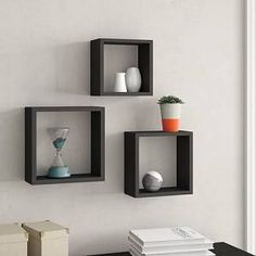 home accents on a budget Wandboard-Set MountMartin - Floating Cube Shelves, Hanging Shelves, Display Shelves, Unique Wall Shelves, Large Shelves, Regal Display, Wall Cubes, Empty Wall Spaces, Wall Installation
