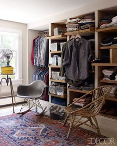 October 2012 Vintage Variety Frank Muytjens of J Crew at Home Closet TraditionalNeoclassical by Elle Decor