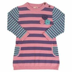 Kite Baby Stripy Knitted Dress reduced to £20 with free delivery