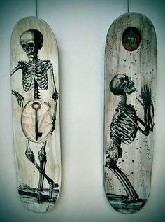 skateboard art | Lesson Plan at incredible art.  http://www.incredibleart.org/lessons/high/skateboard.html