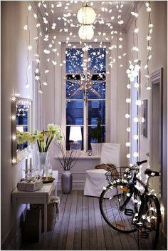 :: Inspiring interiors ::: TIP de decoración: Luces en cadena