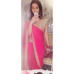 Instagram post by Shivani Surve • Jul 29, 2018 at 7:14am UTC Shivani Surve, Best Photo Background, Prom Dresses, Formal Dresses, Hijab Outfit, My Sunshine, Sari, Actresses, Instagram Posts