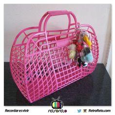 Chicas... ¿Recuerdan estas cestas? RetroReto.com