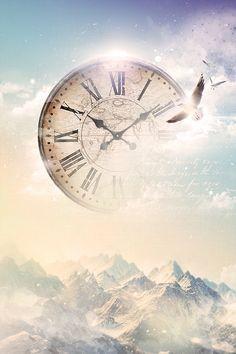 Satellite / Stealing Time on Behance, above & beyond, digital art, fine arts, photo manipulation, art direction, song lyrics, graphic design