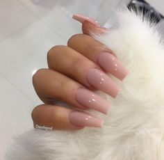 In look for some nail designs and some ideas for your nails? Listed here is our set of must-try coffin acrylic nails for trendy women. Nails Polish, Aycrlic Nails, Nude Nails, Hair And Nails, Coffin Nails, Nails 2016, Nail Nail, Uv Gel Nails, Cute Acrylic Nails