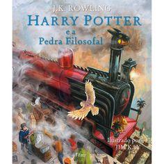 Livro - Harry Potter E A Pedra Filosofal Ilustrado