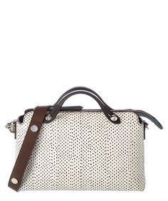 0556ce2ec5 FENDI Fendi By The Way Small Polka-Dot Boston Bag .  fendi