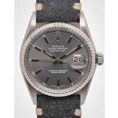 Rolex Datejust Charcoal band. #style #rolex #showstopper