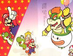 Some kickass, Super Mario World-era art that I'd never seen before.