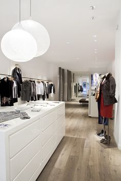 CDC store fixtures in New York By OWC #store fixtures, #retail, #display, #women's clothing
