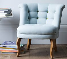 Contrast Button Tub Chair - gorgeous update to any living room, available at Oliver Bonas