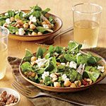 Chopped Chard Salad with Apricot Vinaigrette Recipe | MyRecipes.com