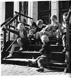 Cas Oorthuys, jordaan kinderen pm 1960