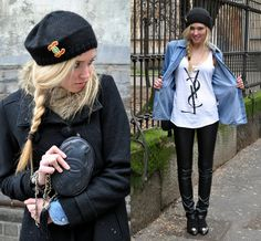 Chiara F featuring Diesel denim shirt - Milan www.diesel.com/female
