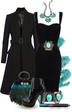 """""""Dannijo Turquoise"""" by queenranya on Polyvore. Classy"""