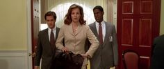 "Margaret Colin as White House Communications Director Constance Spano (and ex-wife of Jeff Goldblum's character) in the 1996 movie ""Independence Day"""