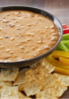 VELVEETA Chili Dip – Just 2 ingredients and 10 minutes stand between you and this VELVEETA Chili Dip. As cheesy dips go, it's a classic.