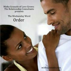 The Wednesday Word – Order: Envisioning the end result and/or destination is great, actually it is necessary. It is important to know where you want to go, especially as it pertains to your #romantic #relationships. The type of relationship experience you desire is similar to the finished product an #architect shows to you on the computer. This image, similar to your #vision is only a guide, work is required to #transform the vision into a tangible entity. Oftentimes people shy away from the…