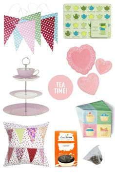 Winter's the perfect time to stay in for #afternoontea with friends. These are our #decor essentials