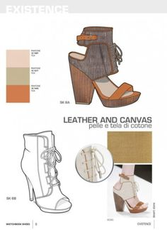 SKETCHBOOK SHOES WOMAN S/S 2015 n.15