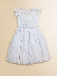 Isabel Garreton Toddlers & Little Girls Vintage Lace & Chiffon Dress