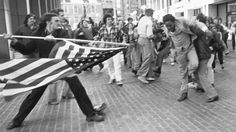 """""""I could either focus on my anger at being attacked, or we could try to mobilize other people, who had not been involved with any of the busing and the violence, in a way that would bring more people of conscience into the conversation around the subject of what was going on in Boston at that time,"""" Landsmark says."""
