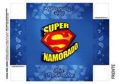Uau! Veja o que temos para Caixa Super Namorado 2 Leh, Barbie, Presents, Photoshop, Cards, Topper, Funko Pop, Scrap, Valentine Box