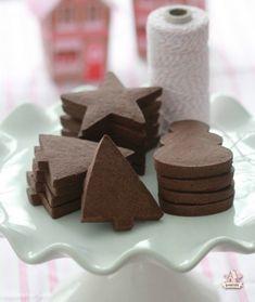Christmas Cookies - Chocolate sugar cookie recipe