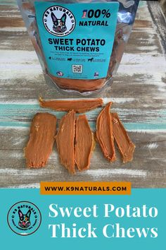 All Ages Friendly - They treats are enjoyed by our months old Husky pup and by our full grown GSD's, they are all obsessed. Can also be used as training treats by cutting or breaking into smaller units. 100% Natural - Our treats are all natural and are packed with vitamins and nutrients you pup loves and needs. #potato #dogtreats #pupfoods Sweet Potato Dog Chews, Pig Ears, Vitamins, Potatoes, Healthy, Husky, Pup, Training
