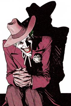 extraordinarycomics: The Joker by Brian Bolland.