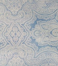 Two Daughters™ Cotton Fabric-Damask Blue