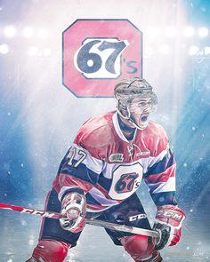 Travis Konecny - Ottawa 67's on Behance