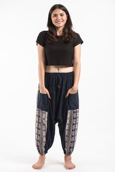 Elephant Aztec Cotton Harem Pants come with 2 perfect side pockets. They offer comfort and stylish look. Great for any occasion. Measurement: Waist: Hip: up to Length: Cotton Harem Pants, Elephant Pants, Traditional Fabric, Aztec, Pants For Women, Navy, Stylish, How To Wear, Clothes