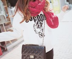 cozy fall outfit. ♡