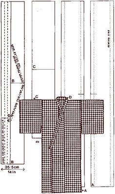 Как сшить женское кимоно: