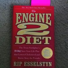 Amazing plant based diet book/ recipes! Thanks rip!