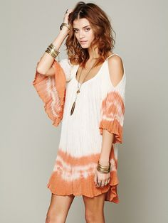 Jen's Pirate Booty Nena Tie Dye Gauze Dress http://www.freepeople.co.uk/whats-new/nena-tie-dye-gauze-dress/