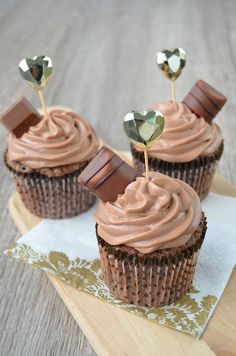 Photo by nubsu Call Me Cupcake, Finnish Recipes, Chocolate Heaven, Desert Recipes, Let Them Eat Cake, No Bake Cake, Baking Recipes, Nutella, Delicious Desserts